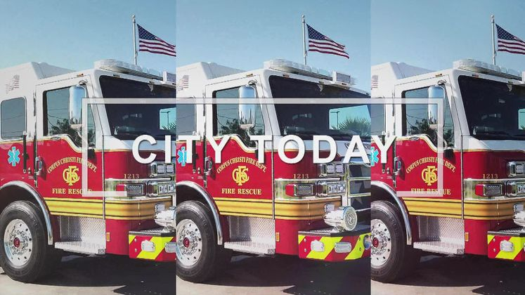 CCFD celebrates new fire truck with wet down ceremony