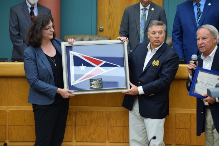 City Marina Receives a Recognition for the World Championship Regatta