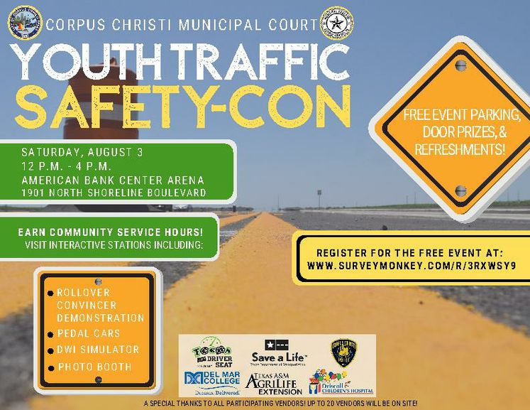 Copy of Copy of Youth Traffic Safety Event-Social