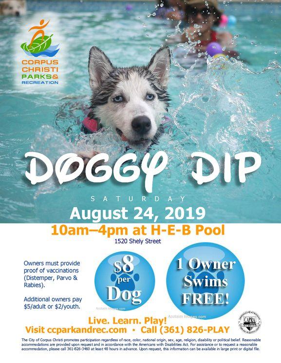 2019 Doggy Dip Flier