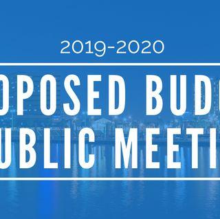 El Distrito 1 presenta una reunión pública para el presupuesto propuesto