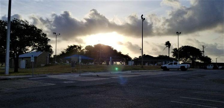 Sunrise from Ethel Eyerly Senior Center
