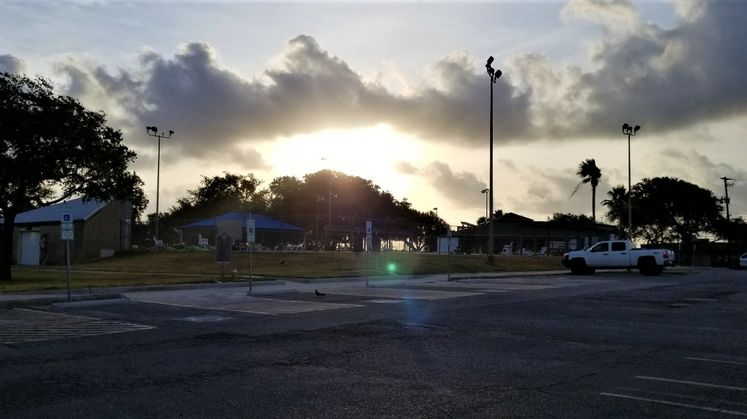 Sunrise from Ethel Eyerly Senior Center