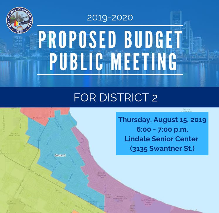 Dist. 2 Map Budget Public Meeting