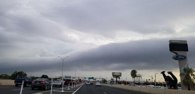 Morning Rolling Cloud