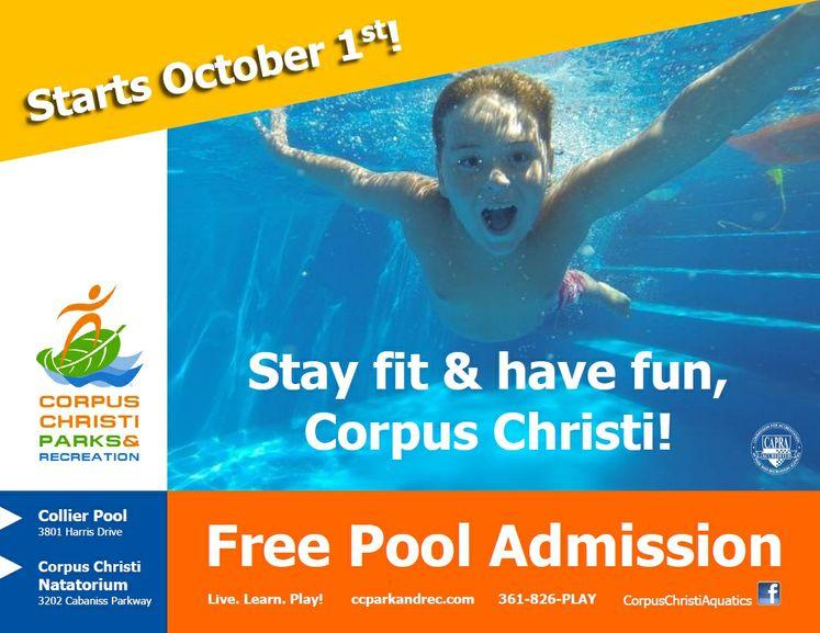 Free Pool Admission