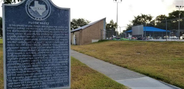 Flour Bluff Historical Marker