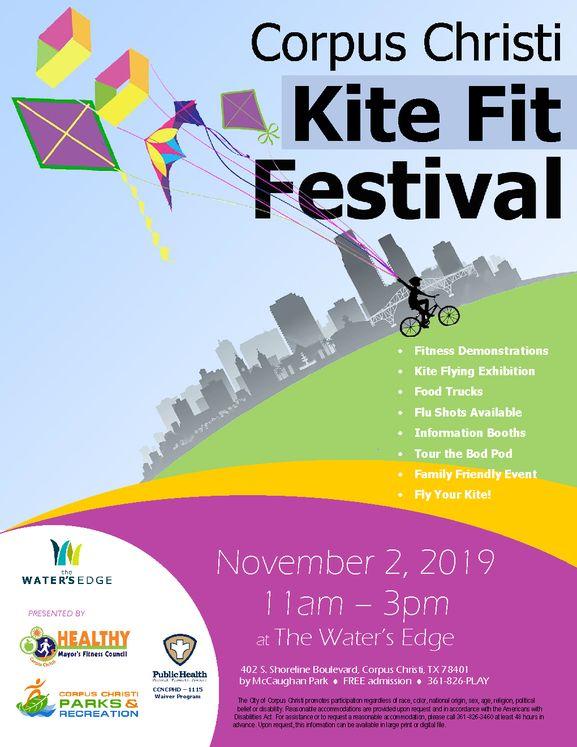 Kite Festiva 2019 flyer