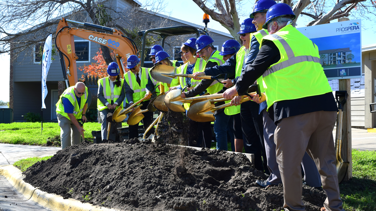 Groundbreaking Casa de Manana Apartments