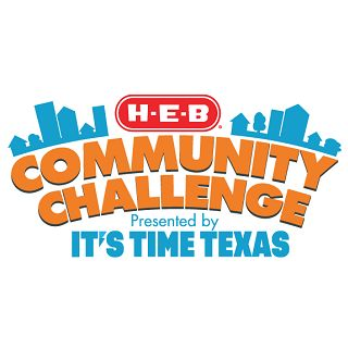 It's Time Texas Community Challenge is Here!