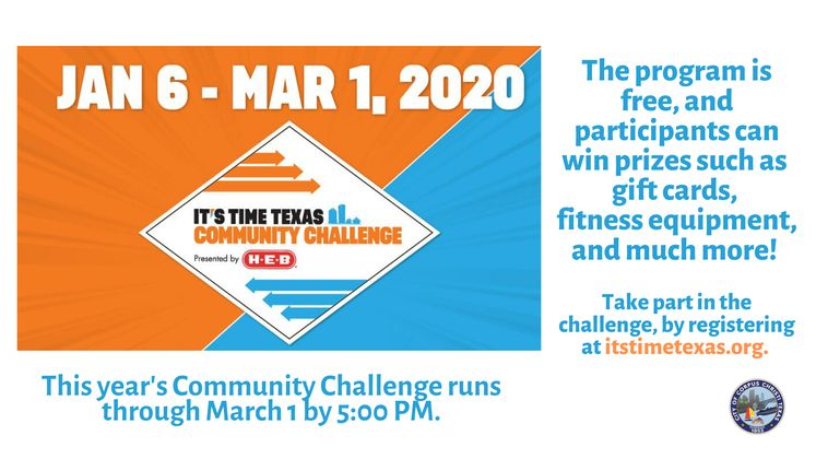It's Time Texas Challenge