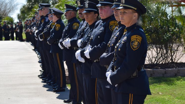 Officer Alan McCollum's Funeral