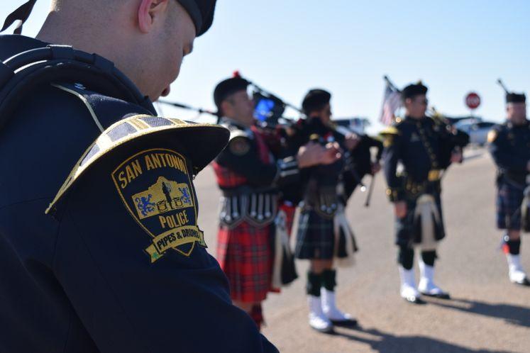 Officer Alan McCollum's Funeral