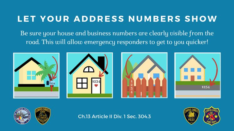 Let Your Address Numbers Show