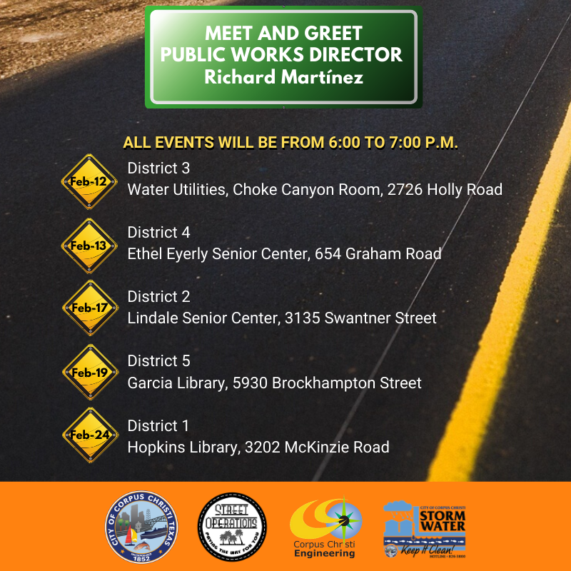 Public Works Meet and Greet FB