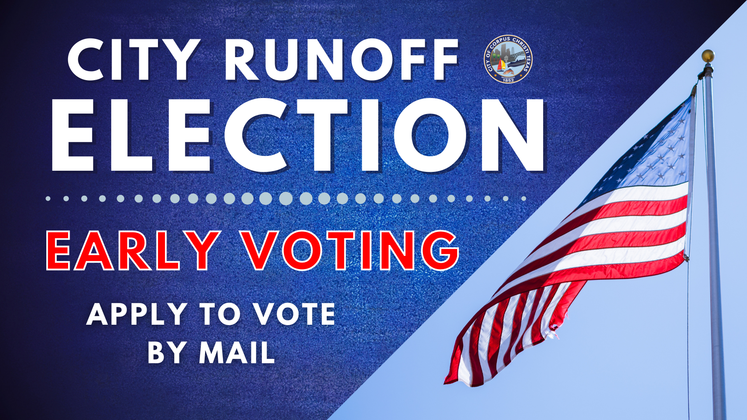 Graphic 12-2-20 Runoff Election Vote by Mail for Social Media