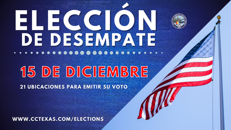 Runoff Election Day  Spanish 12-14-20