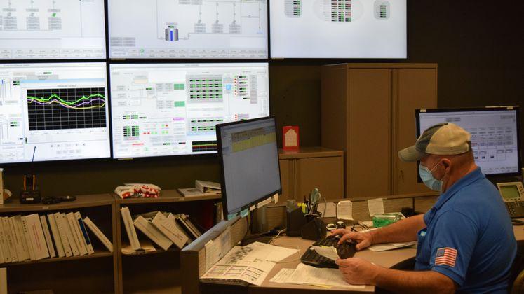 Control Room at ONSWTP