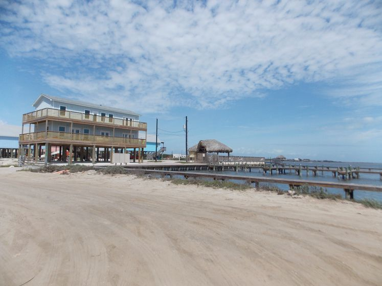 Flour Bluff Piers by Laguna Shores