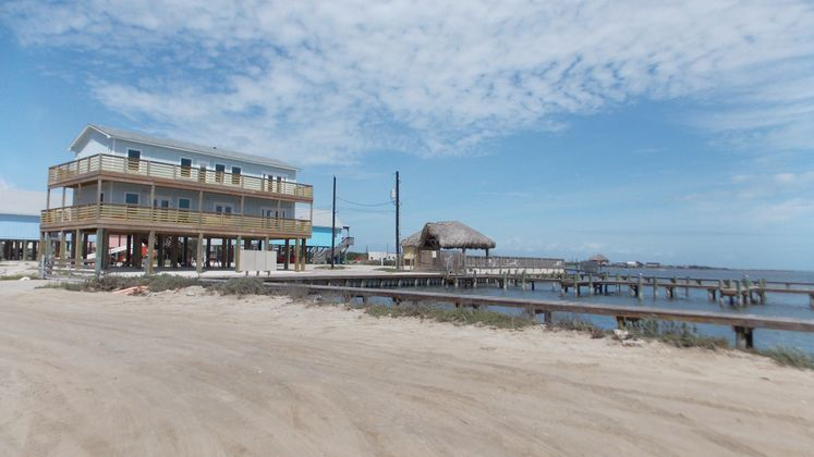 Flour Bluff Piers by Laguna Shores