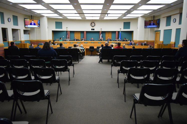 Social Distancing at Council Chambers