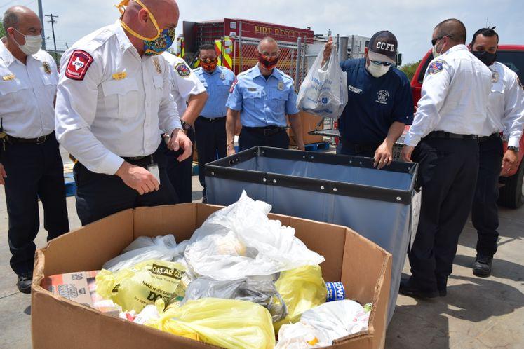 CCFD Donates Food to Coastal Bend Food Bank
