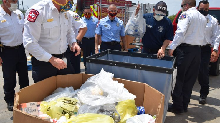 CCFD Donates Food to Coastal Bend Food Bank