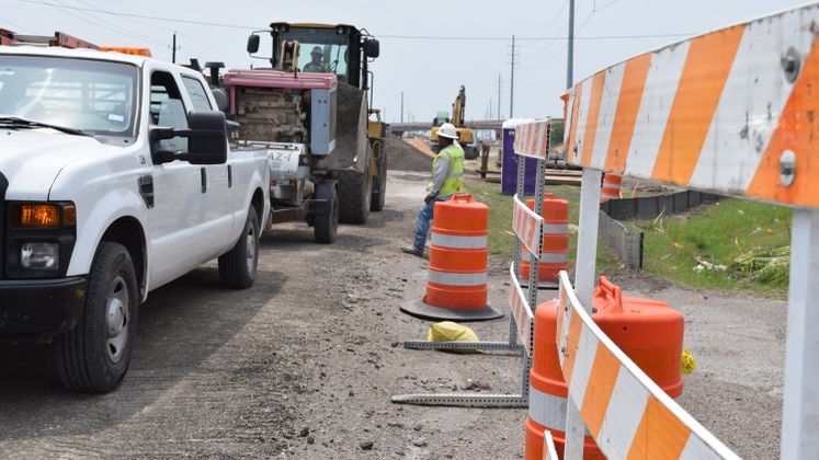 Ayers Street Pedestrian Improvement Project Underway