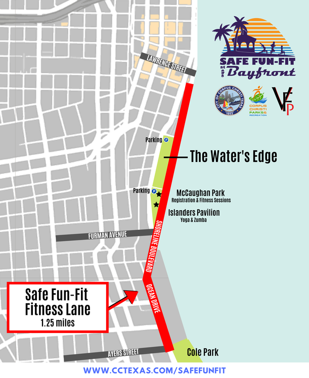 Safe Fun-Fit fitness area MAP