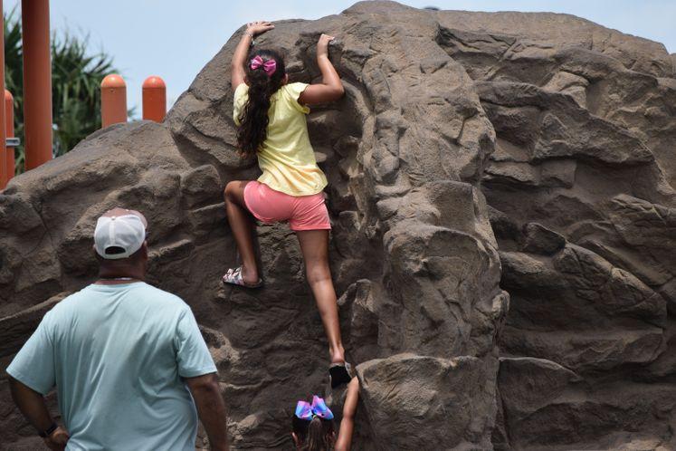 Rock Climbing at Kids Place