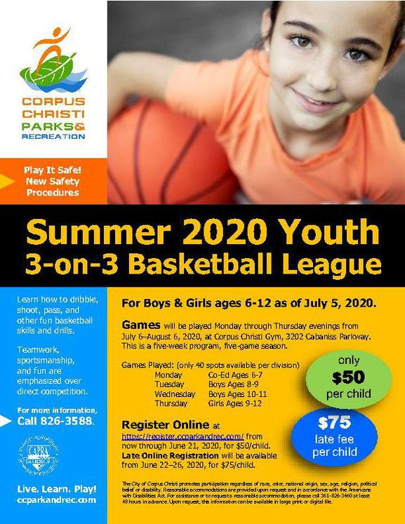 PRR-ATH-Summer-2020-Youth-3-on-3-Basketball-League-flyer