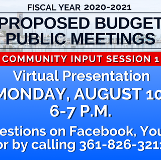 Graphic 8-7-20 Proposed Budget 2020-2021 Meeting info template