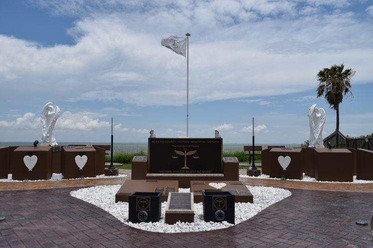 Nueces Co Victims Memorial Garden at Ropes Park