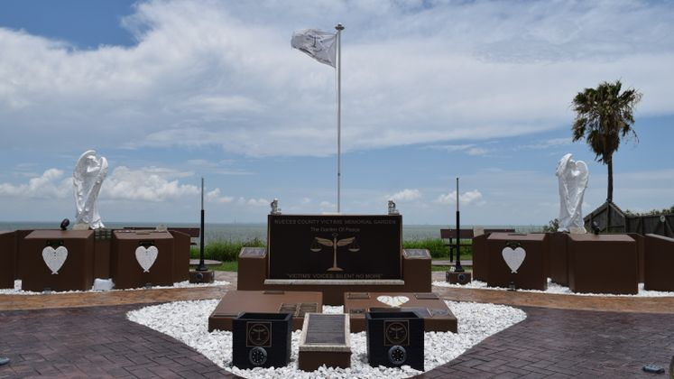 Nueces Co Victims Memorial Garden at Ropes Park