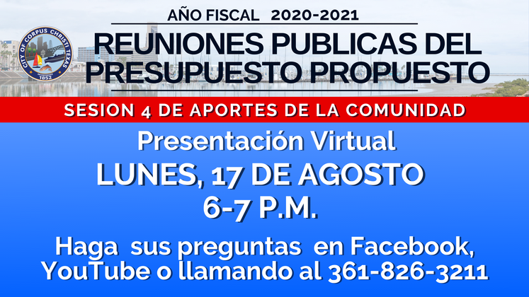 _Proposed Budget 2020-2021  Session 4 Spanish