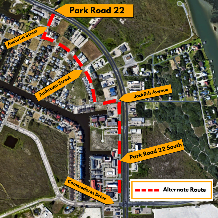 Graphic 9-2-20 Park Road 22 Map