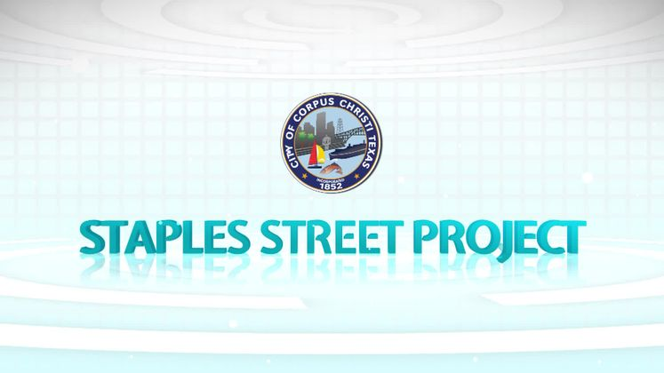 Staples Street is now complete