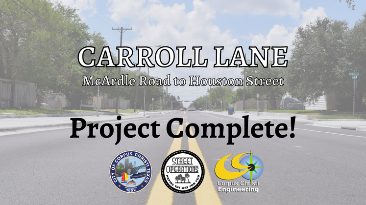 Carroll Lane Project Complete - graphic