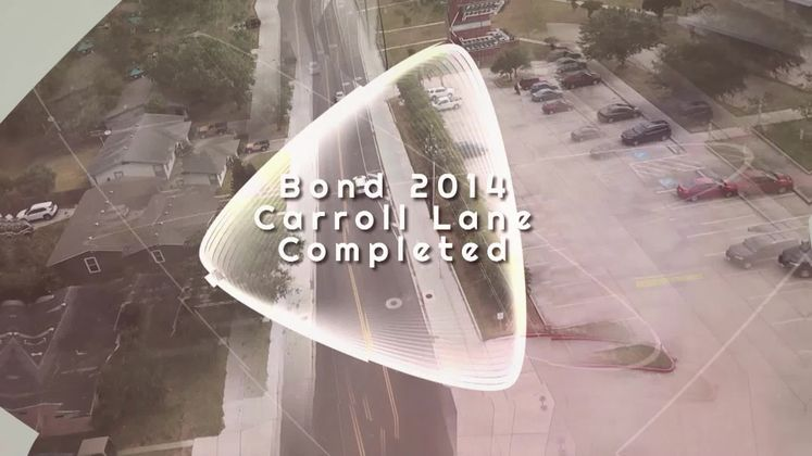 Carroll Lane Bond Project Completed
