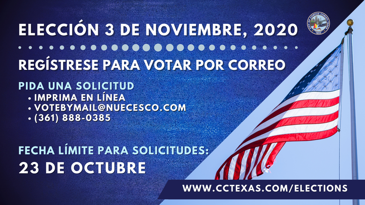 Vote by Mail Spanish 10-01-20