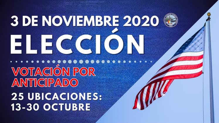 Eleccion 10-13-20