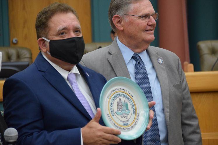Councilman Rudy Garza Bids Farewell