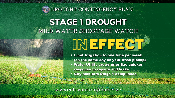 Stage 1 Drought Water Conservation