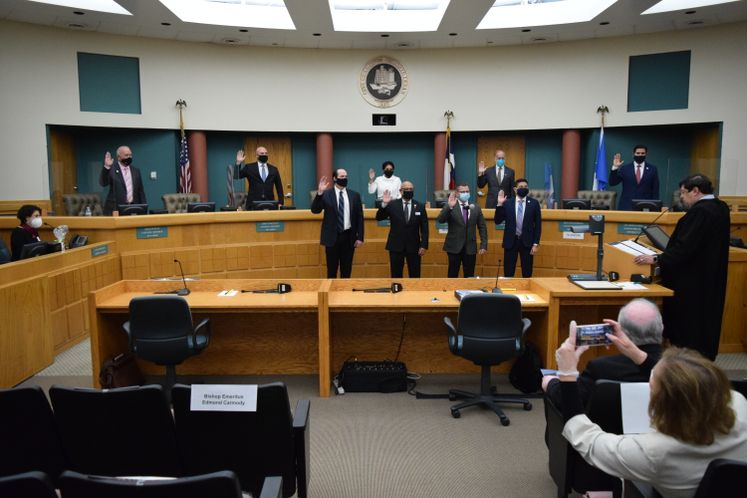 City Council Swearing-in
