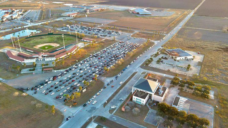 A Full Parking Lot