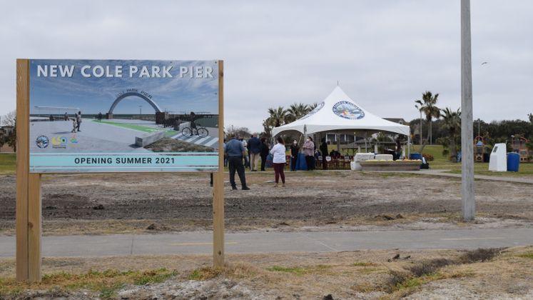 Cole Park Pier Groundbreaking