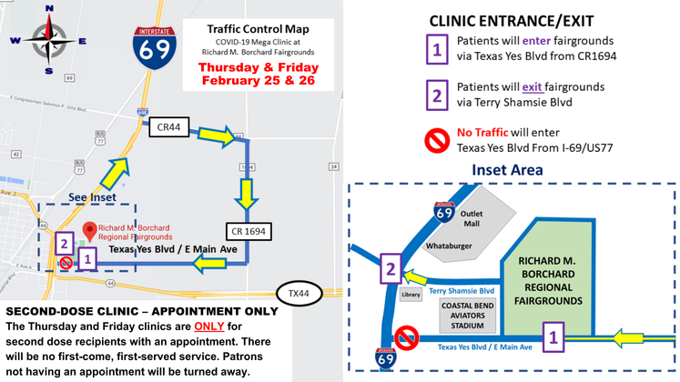 Graphic 2-24-21 Second Dose Clinic Map