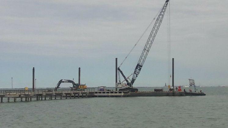 Cole Park Pier Demolition