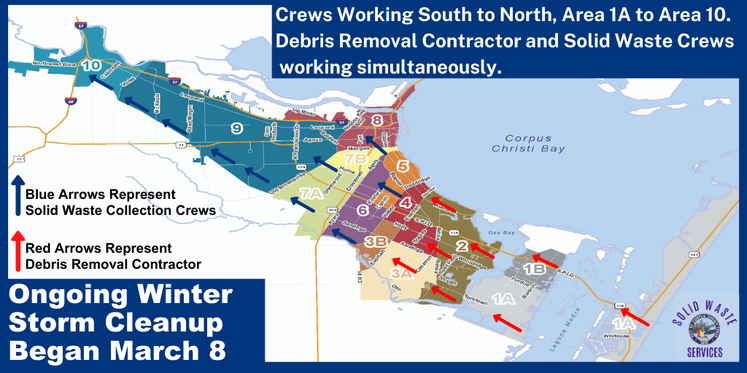 Winter Storm Brush Collection City-Wide Map