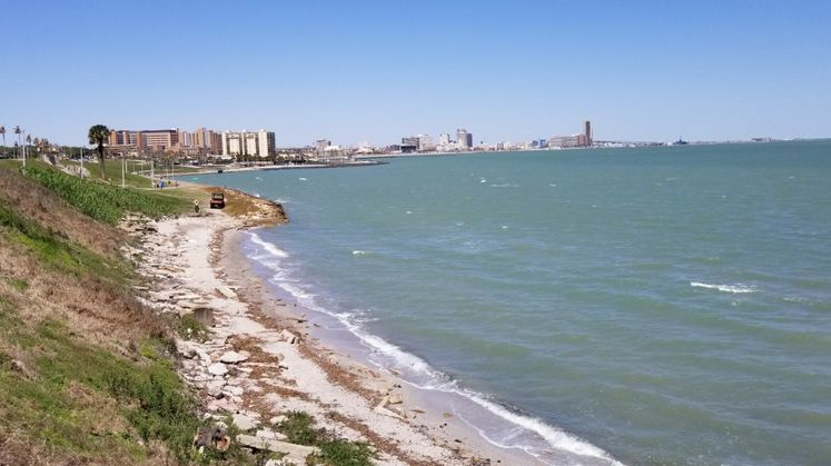 Corpus Christi Bay - After Removal of Cole Park Pier